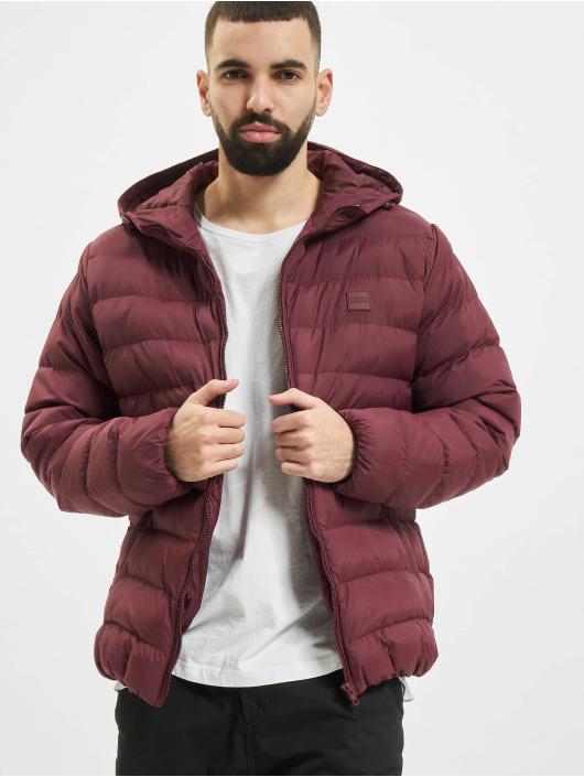 Urban Classics Puffer Jacket Basic Bubble red