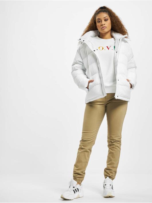 Urban Classics Puffer Jacket Hooded white