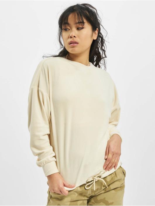 Urban Classics Pullover Oversized Velvet beige