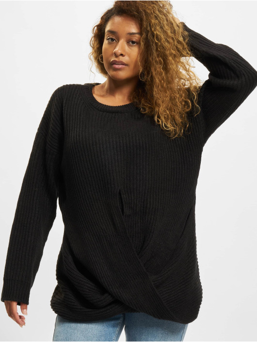 Urban Classics Pullover Wrapped black