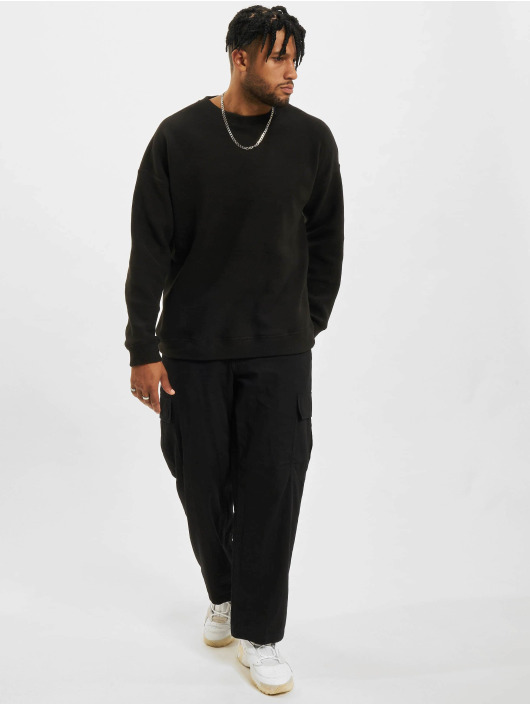 Urban Classics Pullover Polar Fleece black
