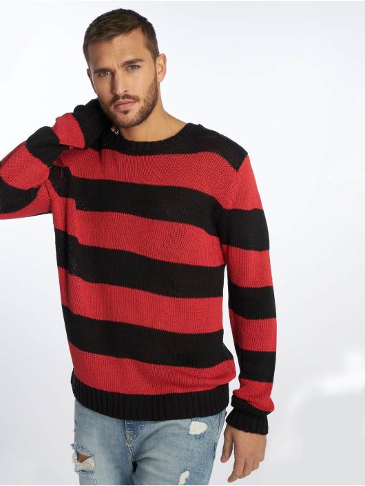 Urban Classics Pullover Striped black