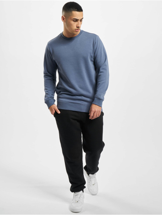 Urban Classics Pullover Basic Terry Crew blue