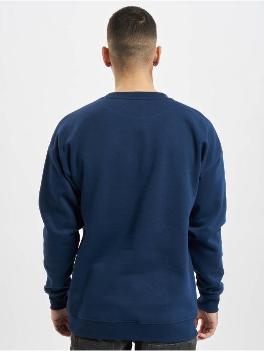 Urban Classics Pullover College Print blue