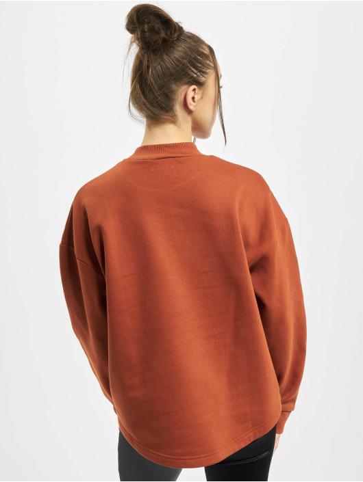 Urban Classics Pullover Ladies Oversized High Neck brown