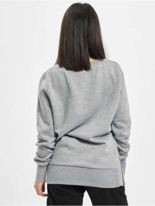 Urban Classics Pullover Side Zip Long gray