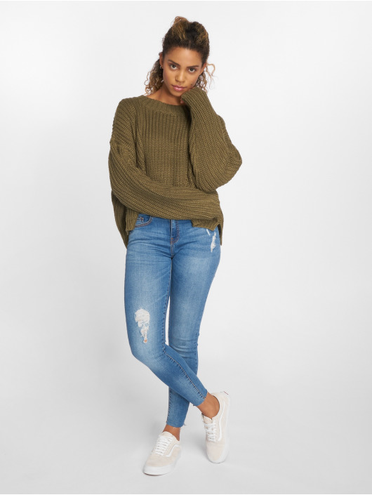 Urban Classics Pullover Wide Oversize olive