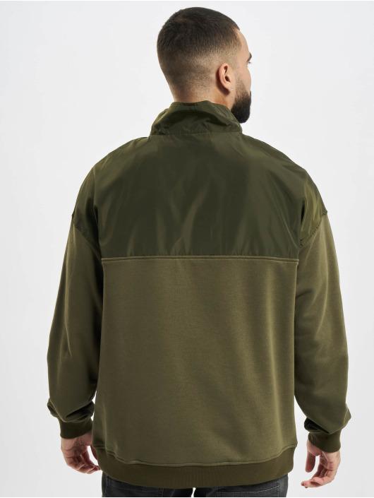 Urban Classics Pullover Military olive