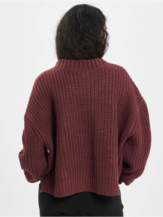 Urban Classics Pullover Wide Oversize red