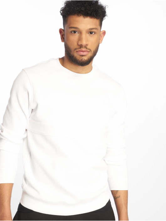 Urban Classics Pullover Heavy Pique white