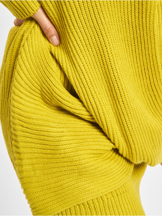 Urban Classics Pullover Wrapped yellow