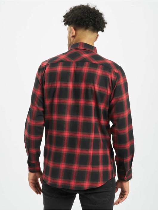 Urban Classics Shirt Checked 6 black