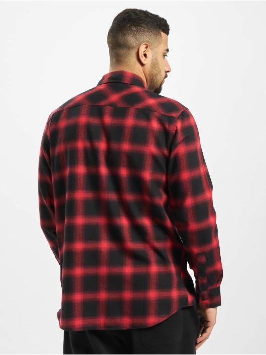 Urban Classics Shirt Oversized Checked black