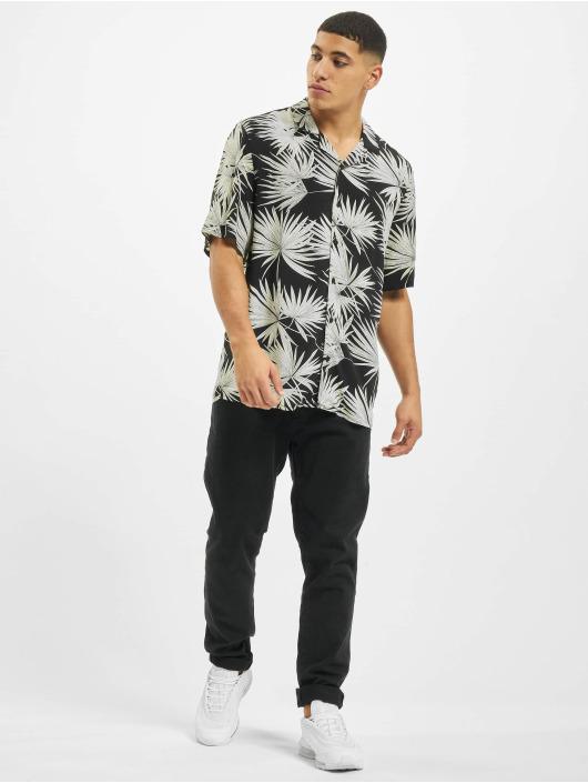 Urban Classics Shirt Frond Resort black