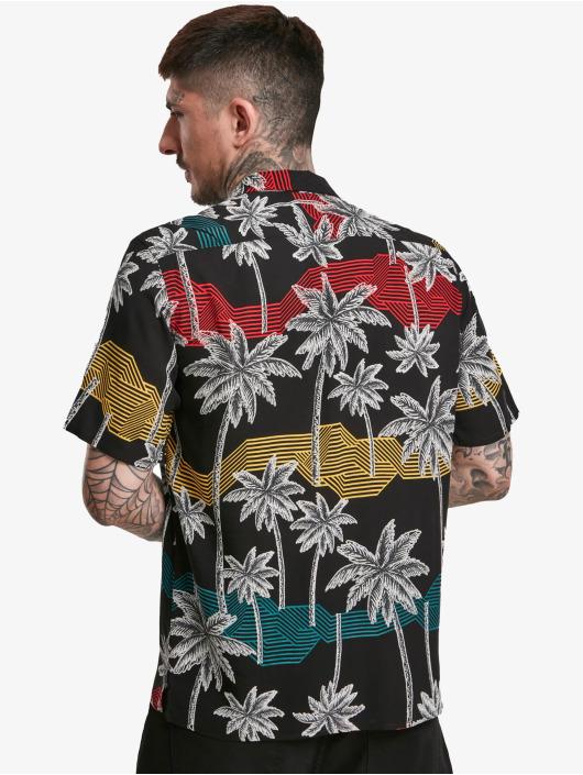 Urban Classics Shirt Palm Tree Resort black
