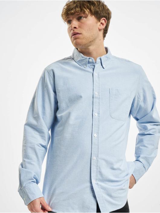 Urban Classics Shirt Basic Oxford blue