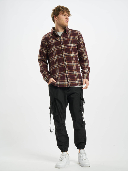 Urban Classics Shirt Checked Campus red