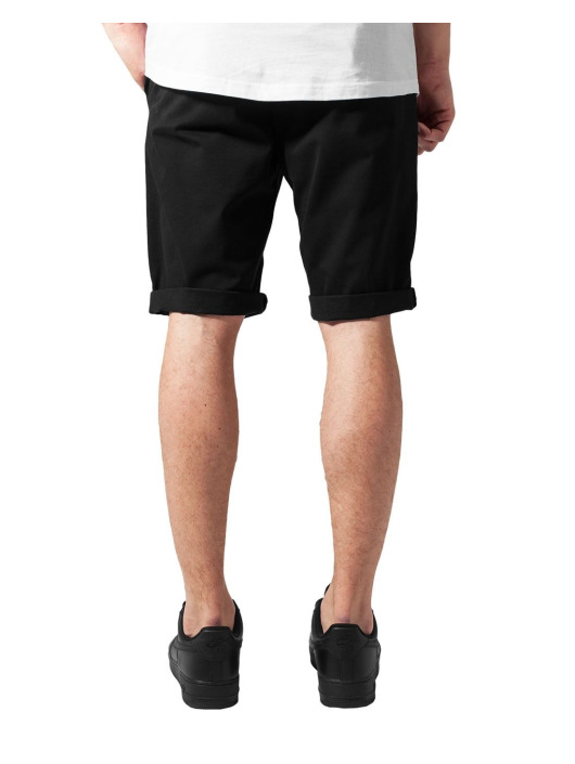 Urban Classics Short Stretch Turnup black