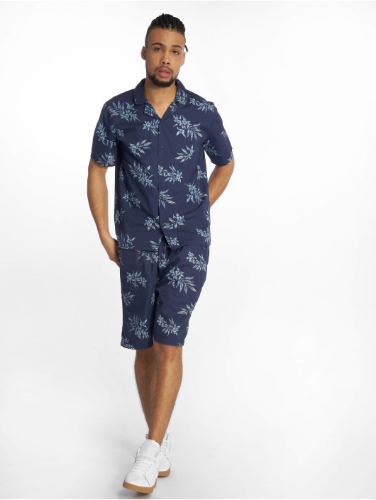 Urban Classics Short Pattern Resort blue