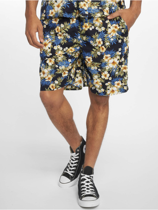 Urban Classics Short Pattern Resort blue