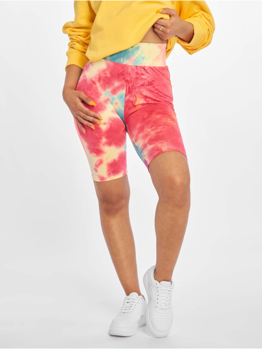 Urban Classics Short Tie Dye Cycling colored