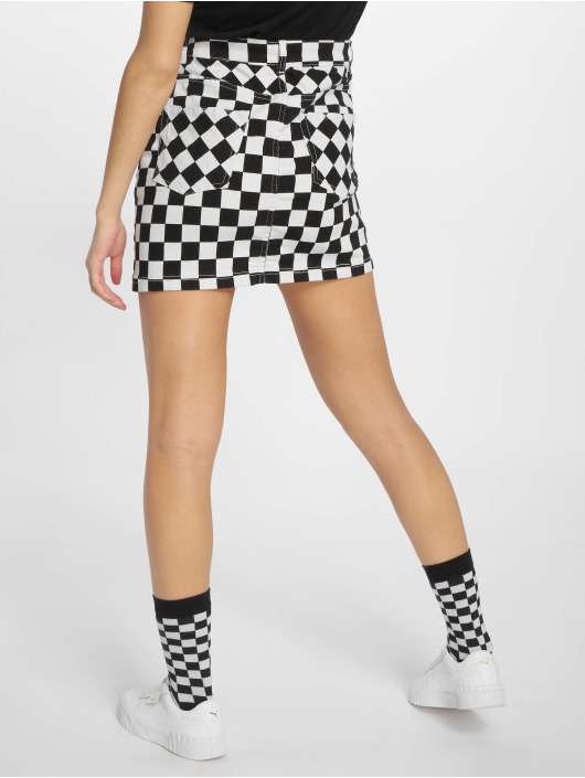 Urban Classics Skirt Check Twill black