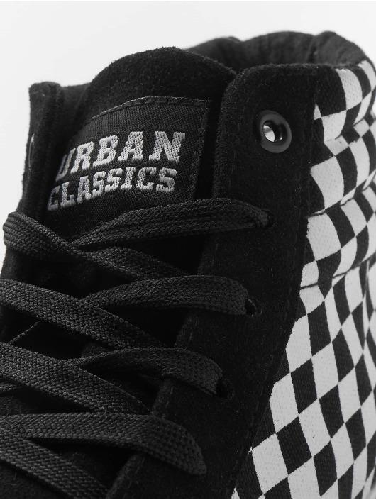 Urban Classics Sneakers Printed High Canvas black