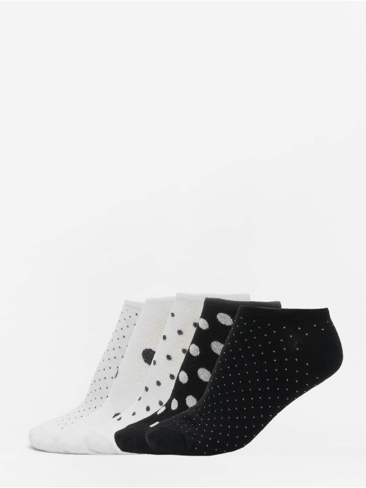 Urban Classics Socks No Show Socks Dots 5-Pack white
