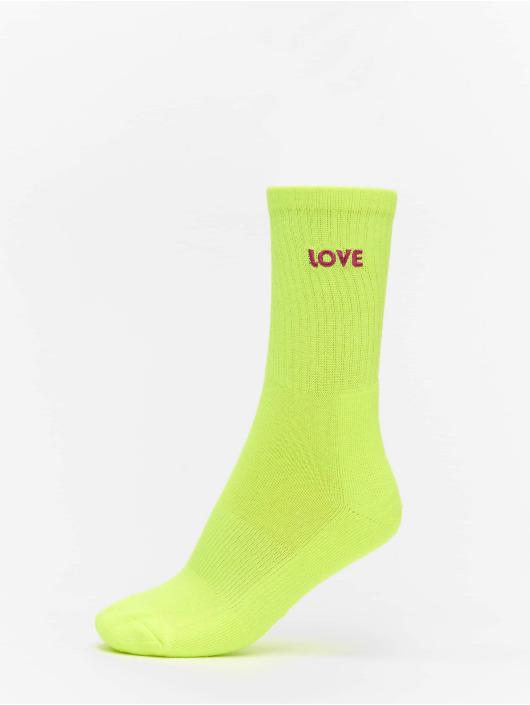 Urban Classics Socks Pride Pack 3-Pack yellow