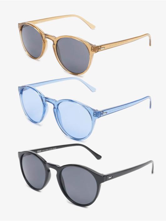Urban Classics Sunglasses Sunglasses Cypress 3-Pack colored