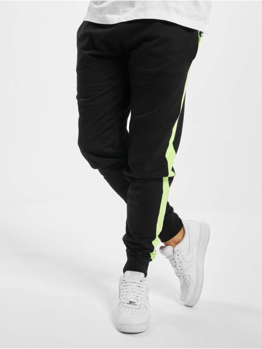 Urban Classics Sweat Pant Neon Striped black