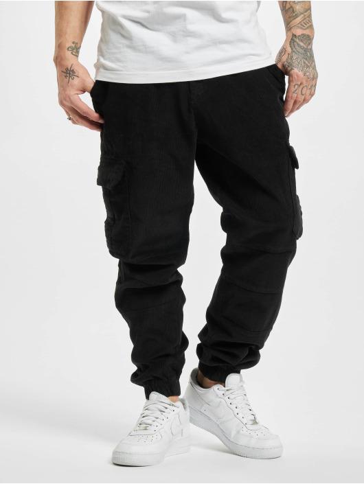 Urban Classics Sweat Pant Corduroy Cargo black