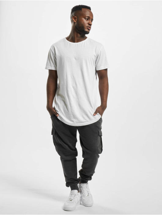 Urban Classics Sweat Pant Fitted Cargo gray