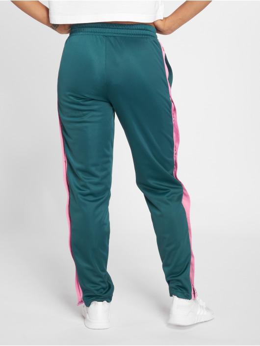Urban Classics Sweat Pant Button Up green