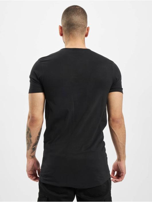 Urban Classics T-Shirt Peached Shaped Long black