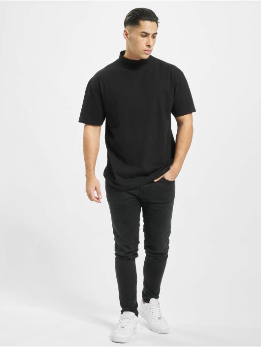 Urban Classics T-Shirt Oversized Turtleneck black