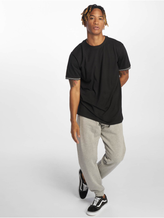 Urban Classics T-Shirt Rib Ringer black