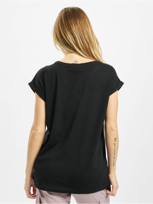 Urban Classics T-Shirt Ladies Organic Extended black