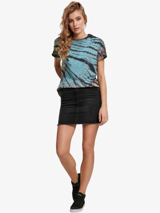 Urban Classics T-Shirt Tie Dye Boyfriend black