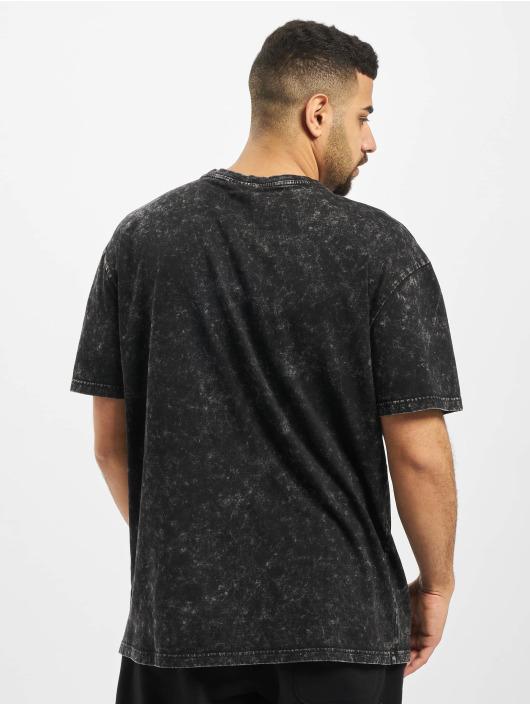 Urban Classics T-Shirt Acid Washed Logo black