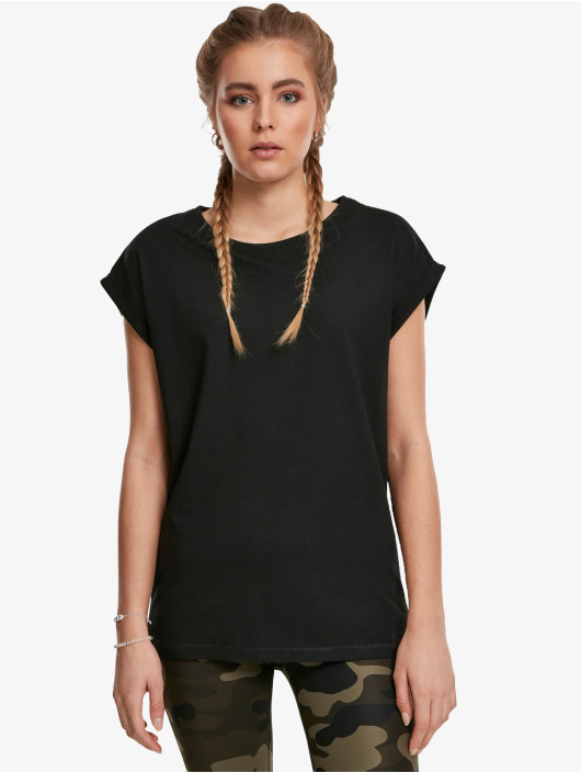 Urban Classics T-Shirt Extended Shoulder 2-Pack black