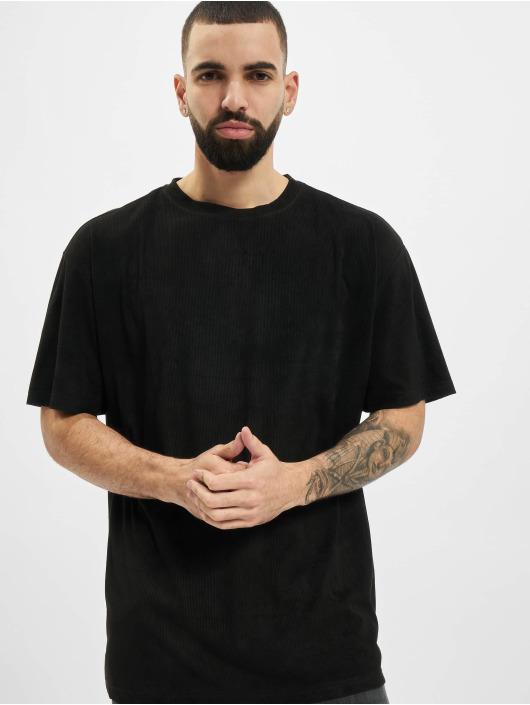 Urban Classics T-Shirt Oversized Peached Rib Tee black