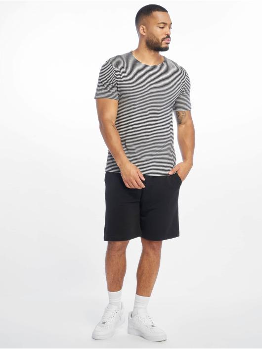Urban Classics T-Shirt Yarn Dyed Baby Stripe blue