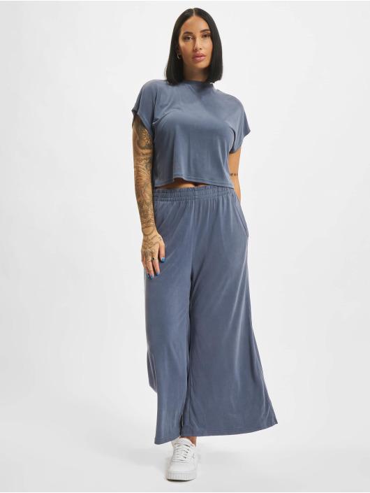 Urban Classics T-Shirt Modal Short blue