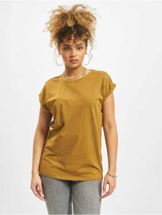 Urban Classics T-Shirt Extended brown