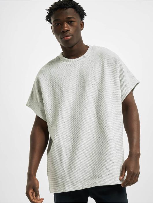 Urban Classics T-Shirt Cut On Sleeve Naps Interlock Tee gray