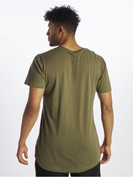 Urban Classics T-Shirt Shaped Long olive