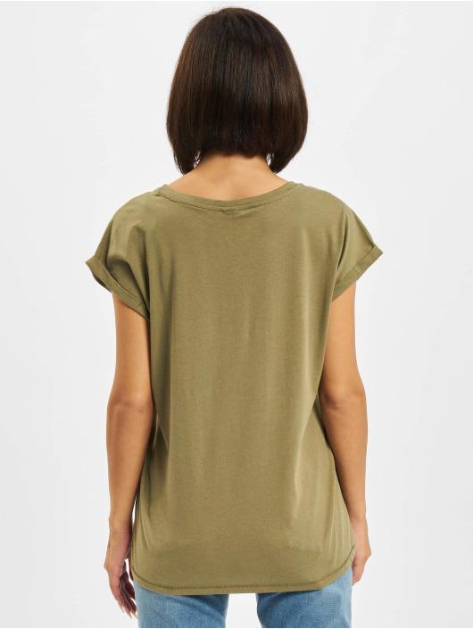 Urban Classics T-Shirt Extended Shoulder olive
