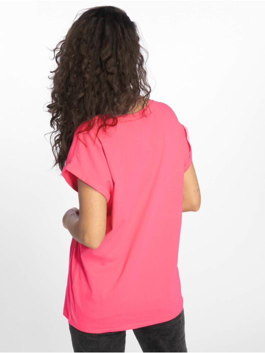 Urban Classics T-Shirt Extended Shoulder pink