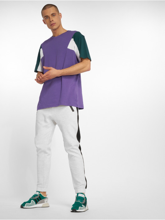 Urban Classics T-Shirt 3-Tone purple